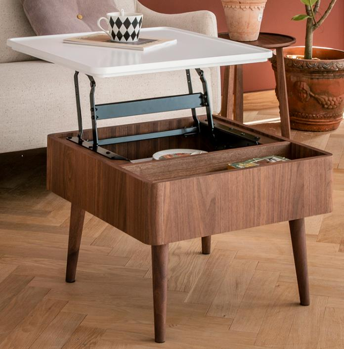 Lift Top Multi-function Wood Modern Coffee Table With